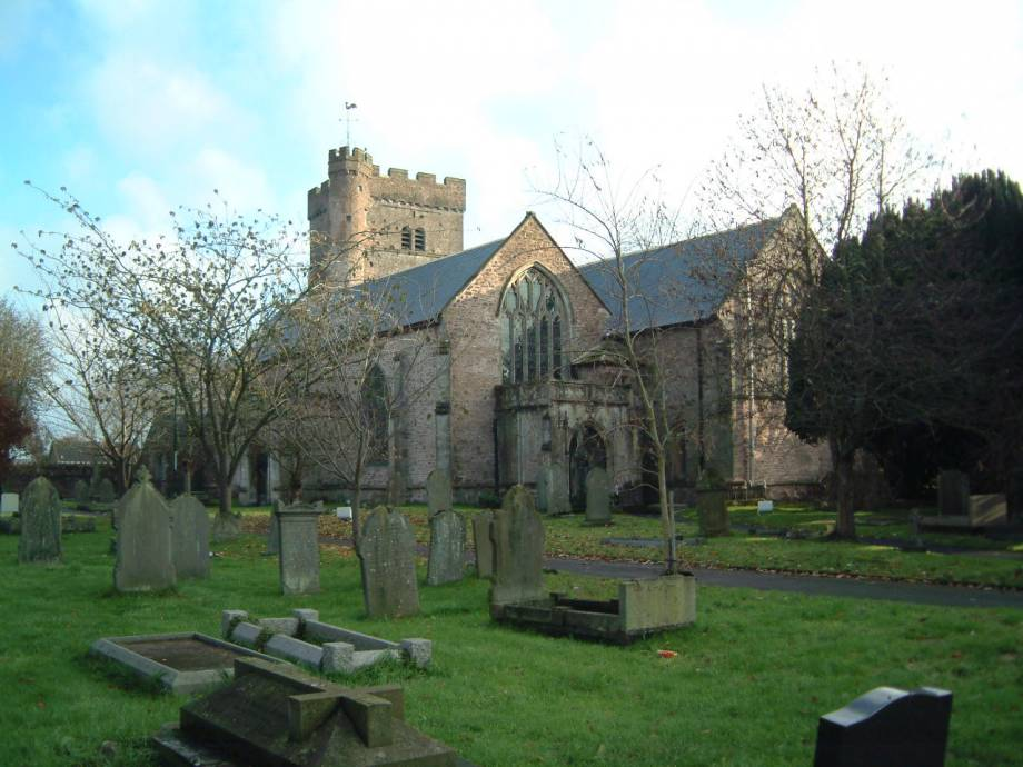 <strong>St Mary, Usk (1885)<span><b>view larger</b></span></strong><i>→</i>